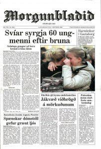Morgunblaðið 31. október 1998